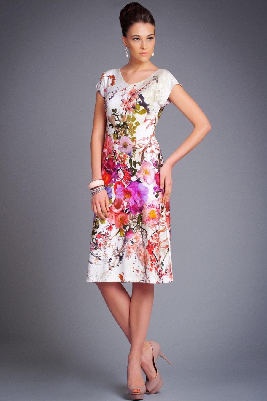 Выкройки платья из вискозы летние