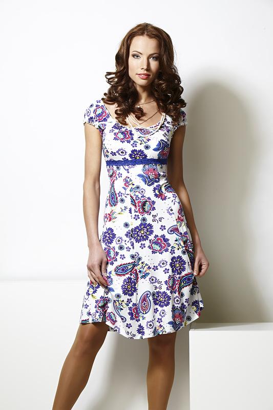 Платье из вискозы на лето выкройка