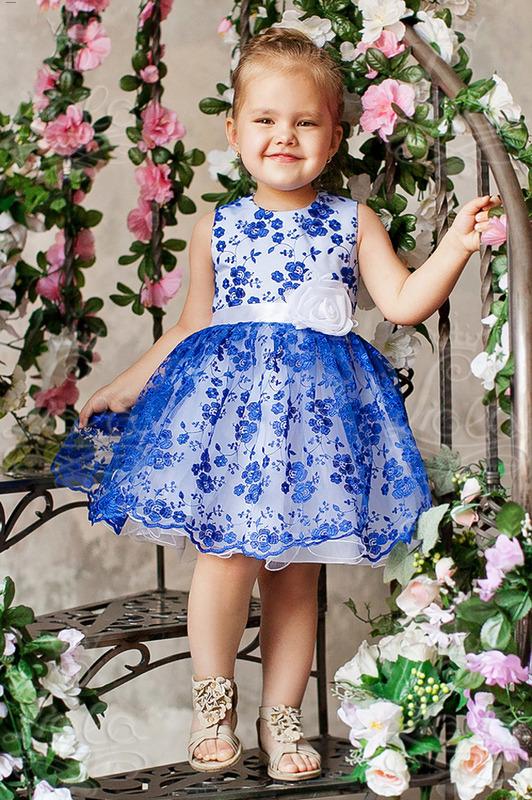 Бальное платье девочке 2 года