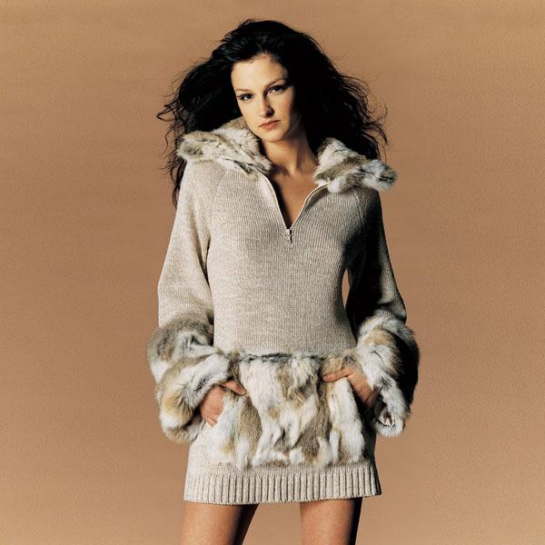 Одежда Из Вязаного Меха