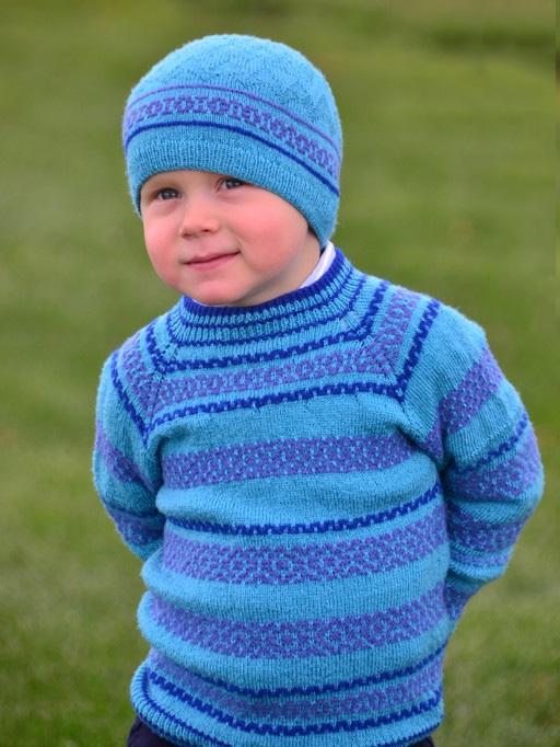 Вязание реглана мальчику