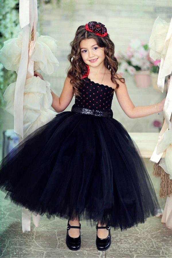 Платье для девочки 2 лет черное