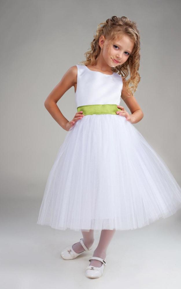 Фото платьев из фатина для девочки