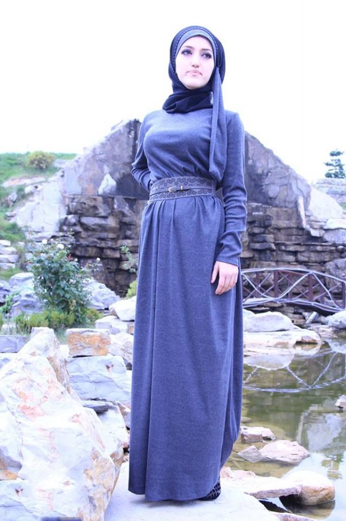 Красивые Повседневные Платья Для Мусульманок