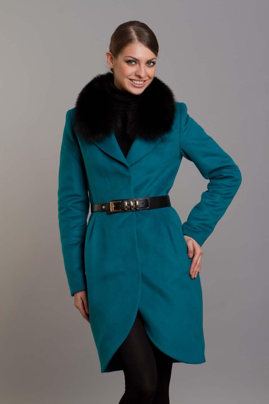 пальто форма тюльпан фото
