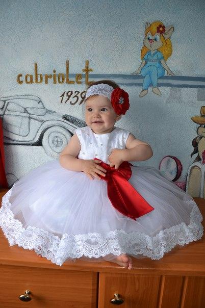 Детское Платье На 1 Годик Купить