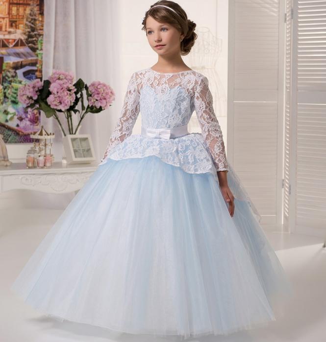 Пышные платья модные для девочек