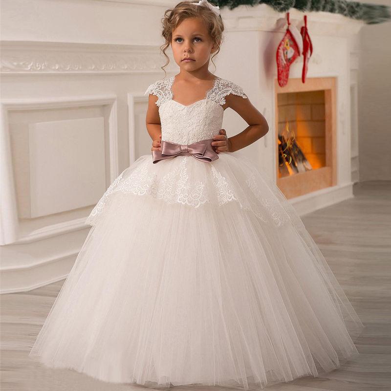 Бальное платье принцессы для девочки