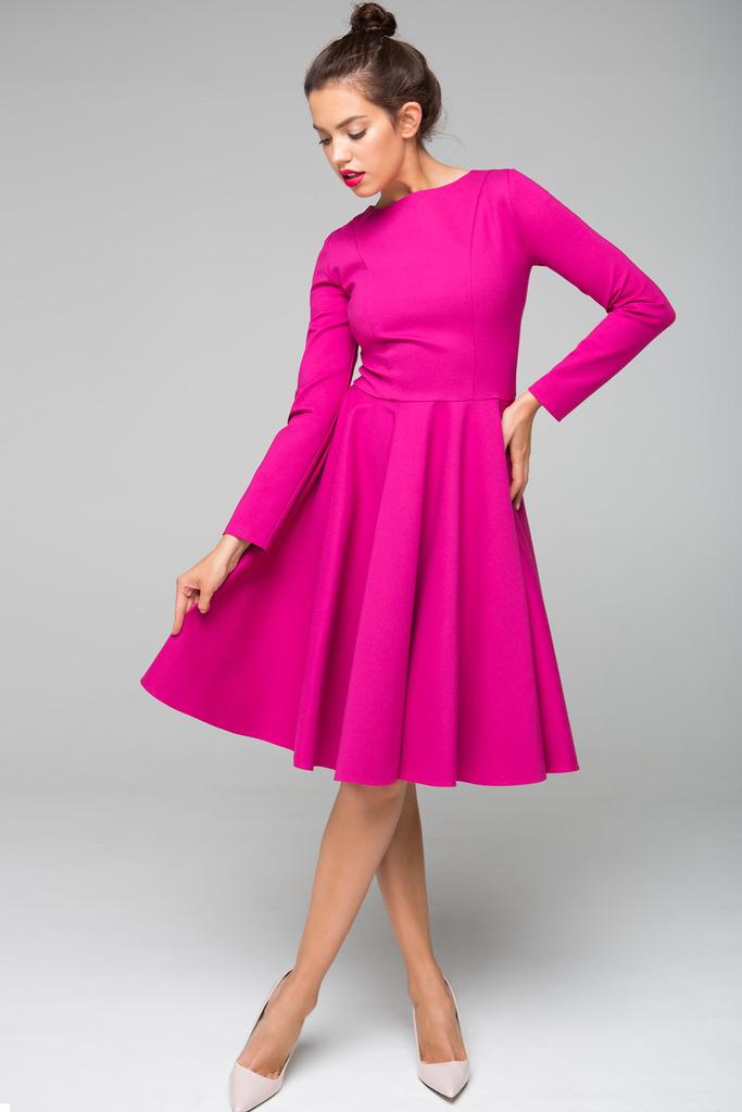 Платье с юбкой солнце