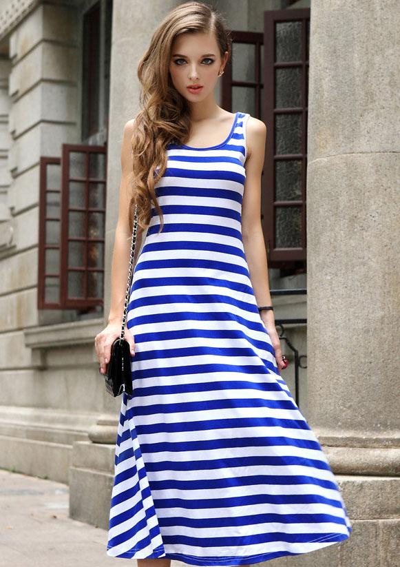 Платье Тельняшка Купить