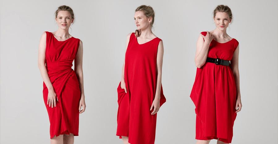 Какое платье сшить красное платье 91
