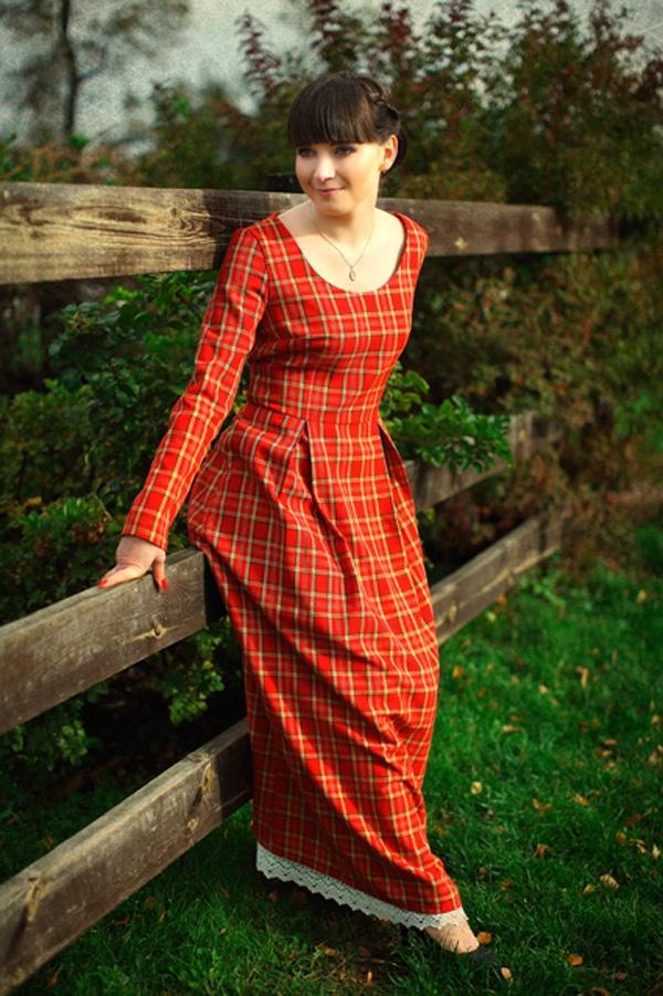 Платье-крестьянка (42 фото)  в пол, православное, с открытыми ... 8855141253a