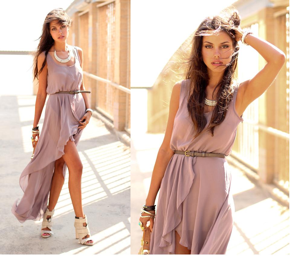 Фото шифон платье