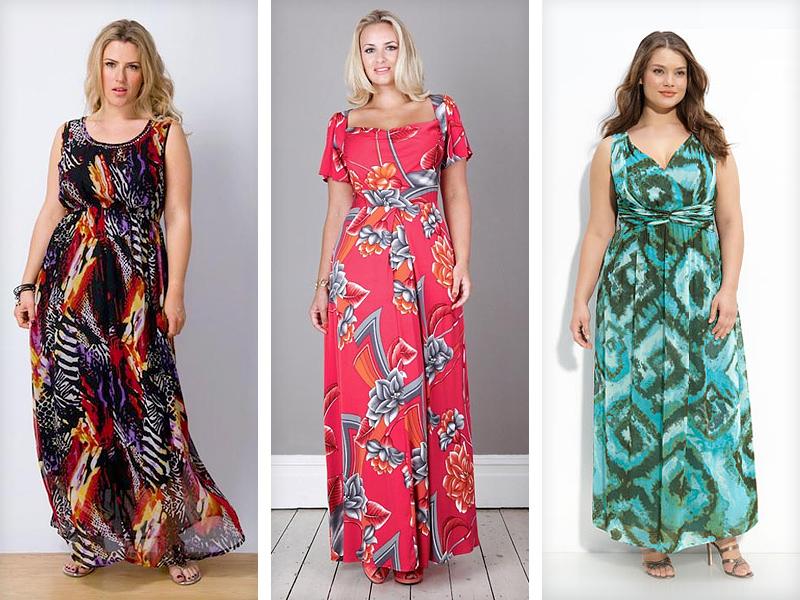 Летние сарафаны и платья для полных