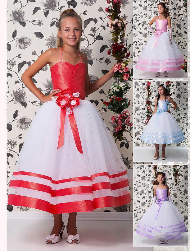 Платья для девочек 10