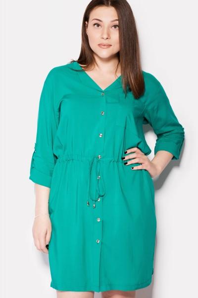 a2e3e7a2beeda41 Платья-рубашки для полных женщин больших размеров 2019 (44 фото)