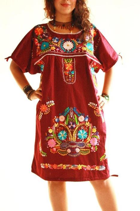 Платья с народной вышивкой 78