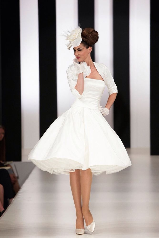 Short designer wedding dresses - Short Wedding Dresses Brides