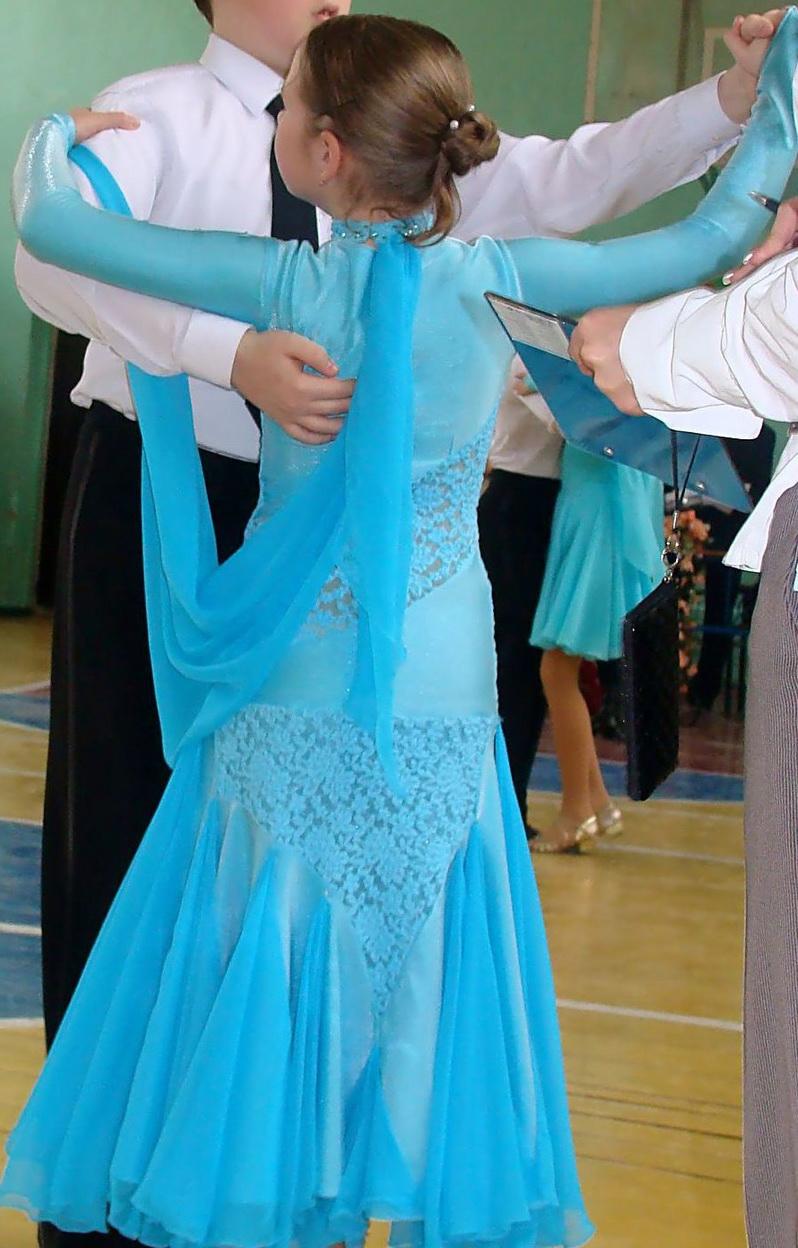 Платье для вальса для девочки 10 лет