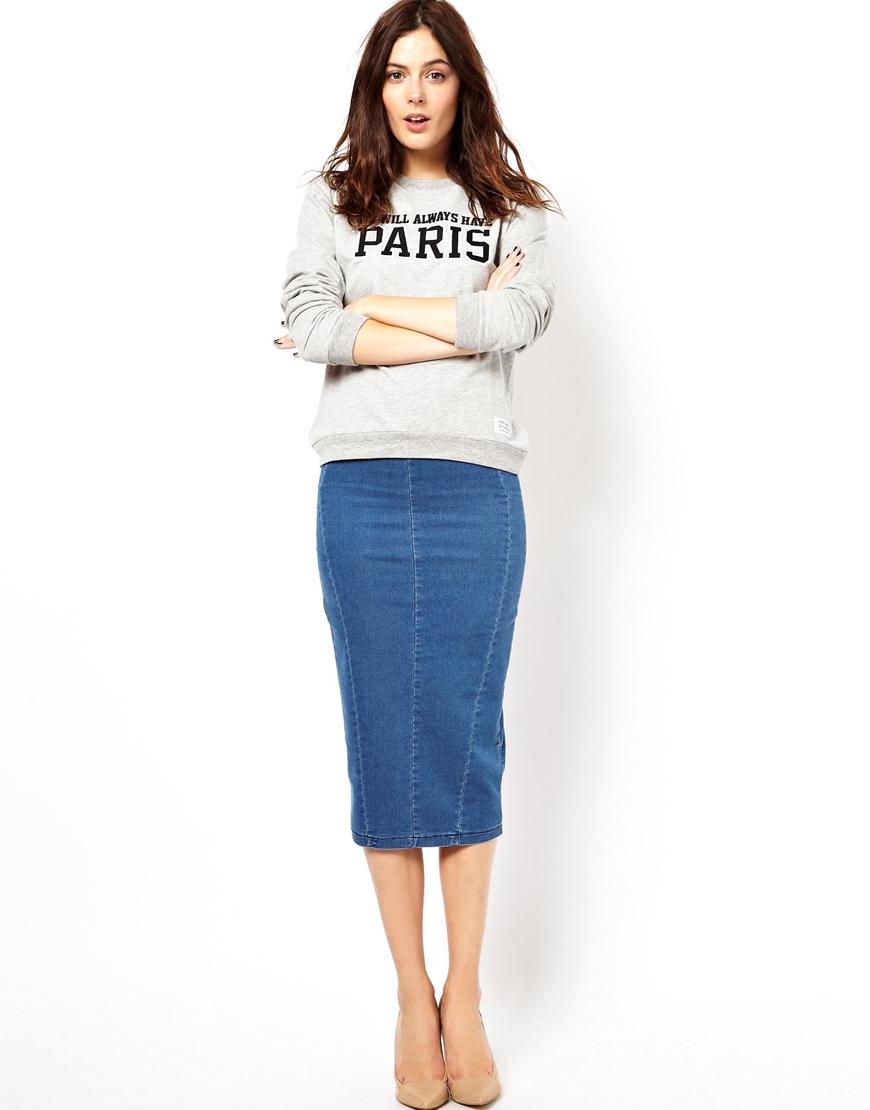 fb6187f1c5a Как подобрать юбку из джинсовой ткани правильно  Материал