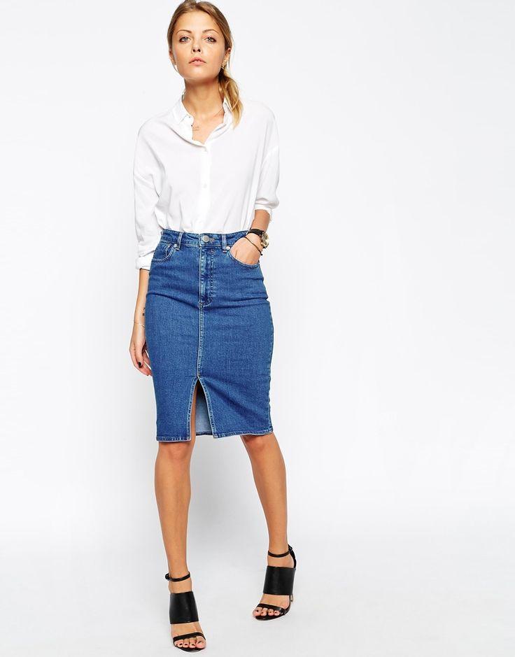 04a80d16cf2 Как подобрать юбку из джинсовой ткани правильно  Материал