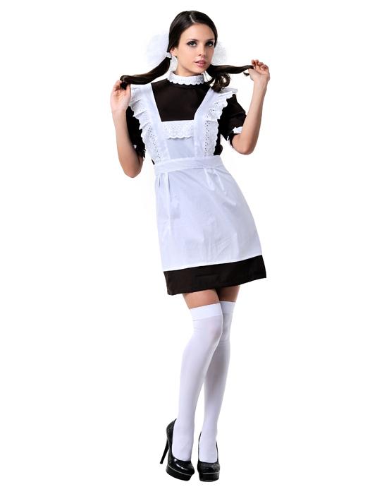 Девушка в школьном фартуке фото 349-584