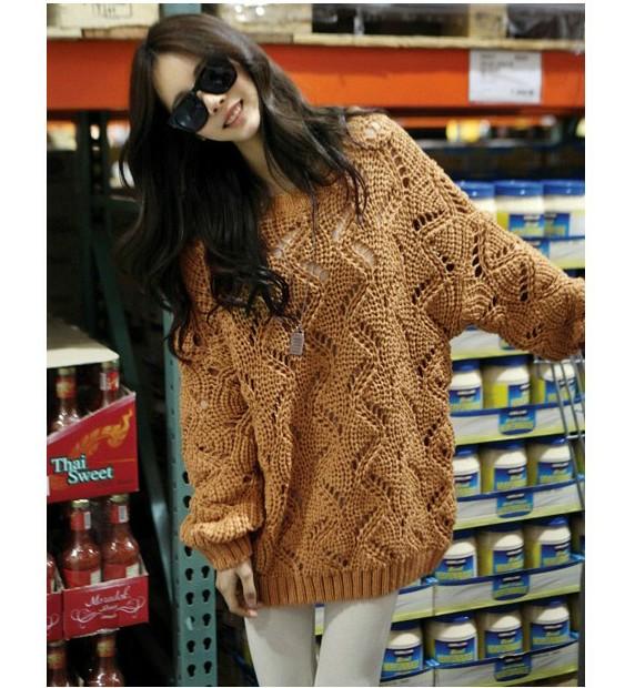 Вязание свободных свитеров