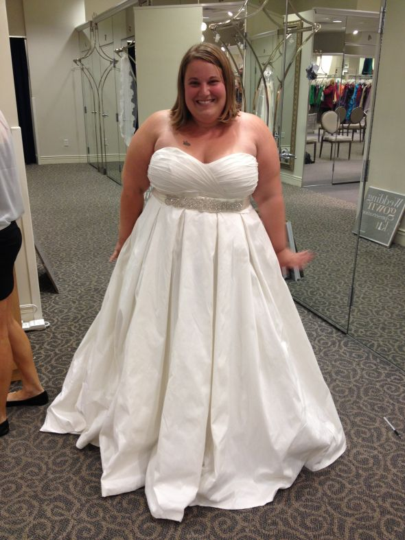 Платья свадебные на полных невест