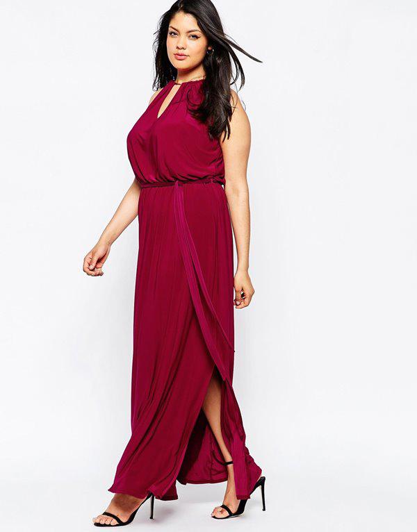 eb9a3b5a0d6 Свободные платья для полных женщин  платья большого размера ...