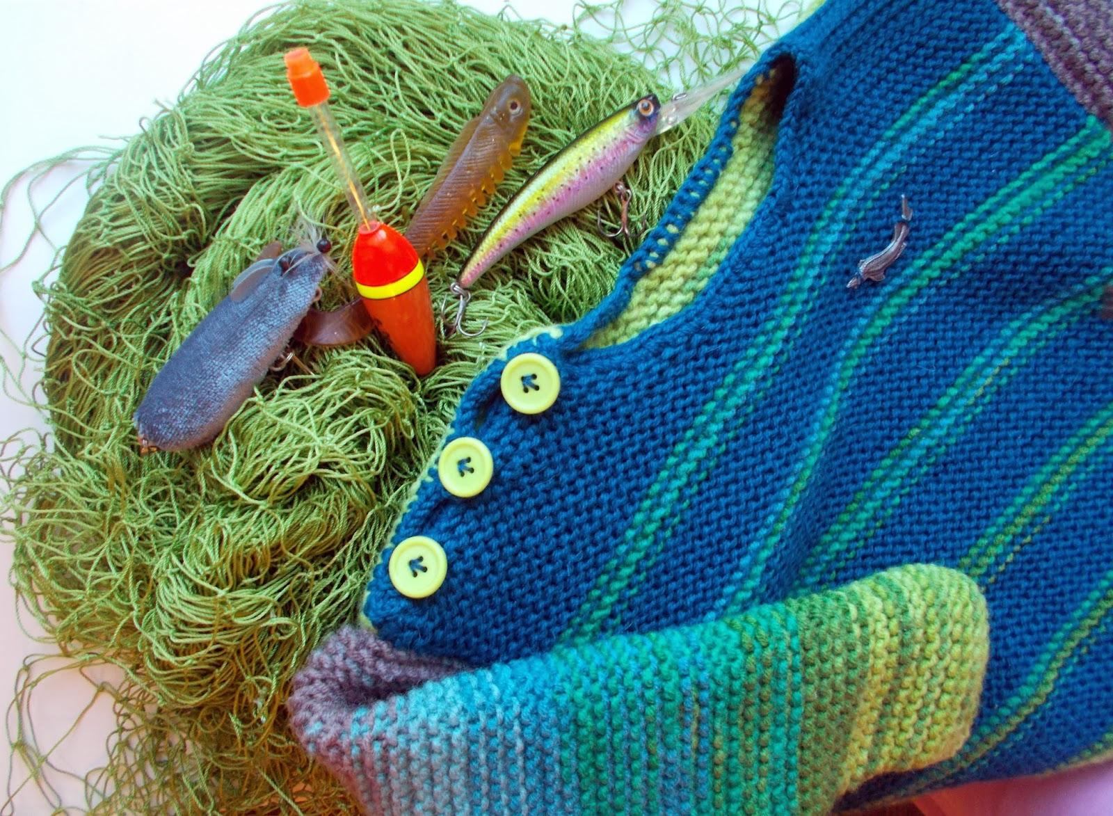 Вязание свитер рыбака: рыбацкий