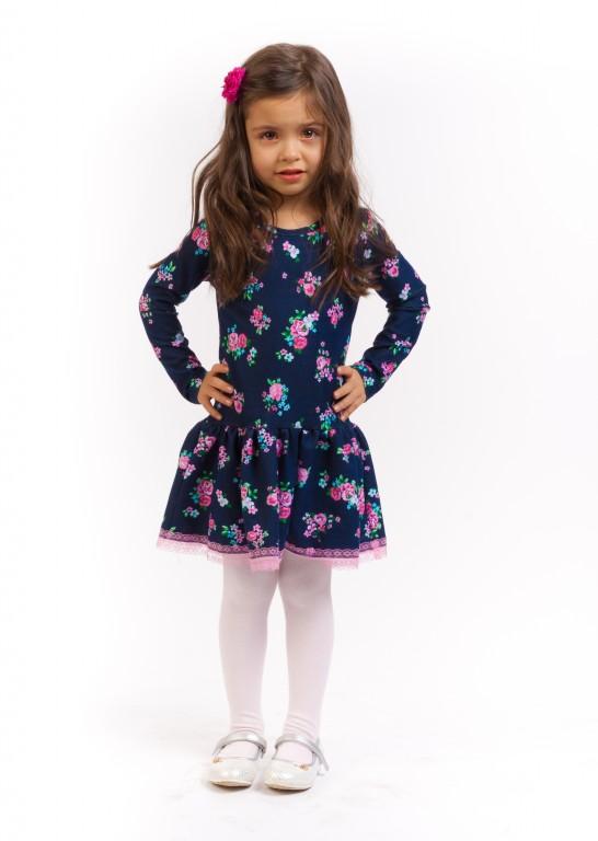 Детские Трикотажные Платья Для Девочек Купить