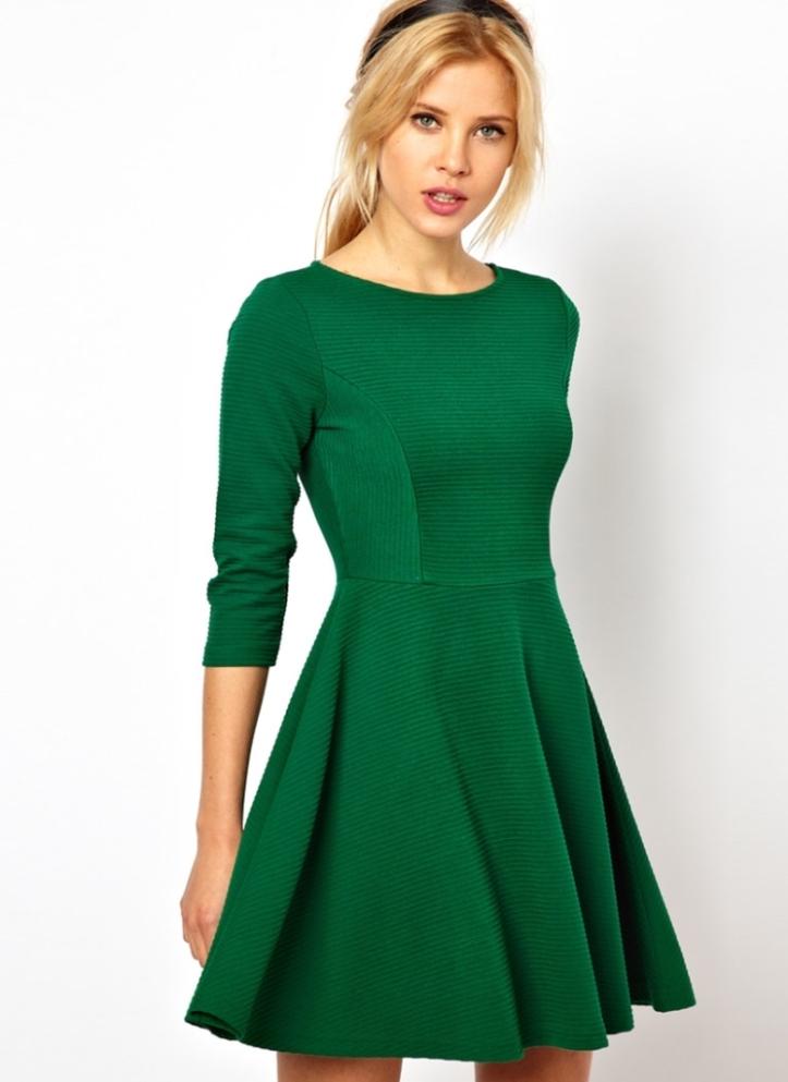 Трикотажные платья короткие