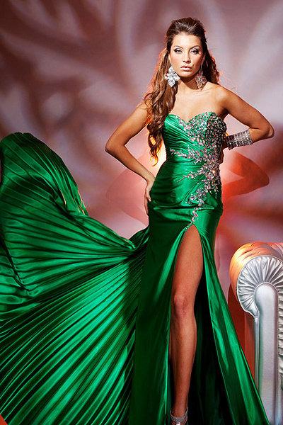 Песня в платье зеленом