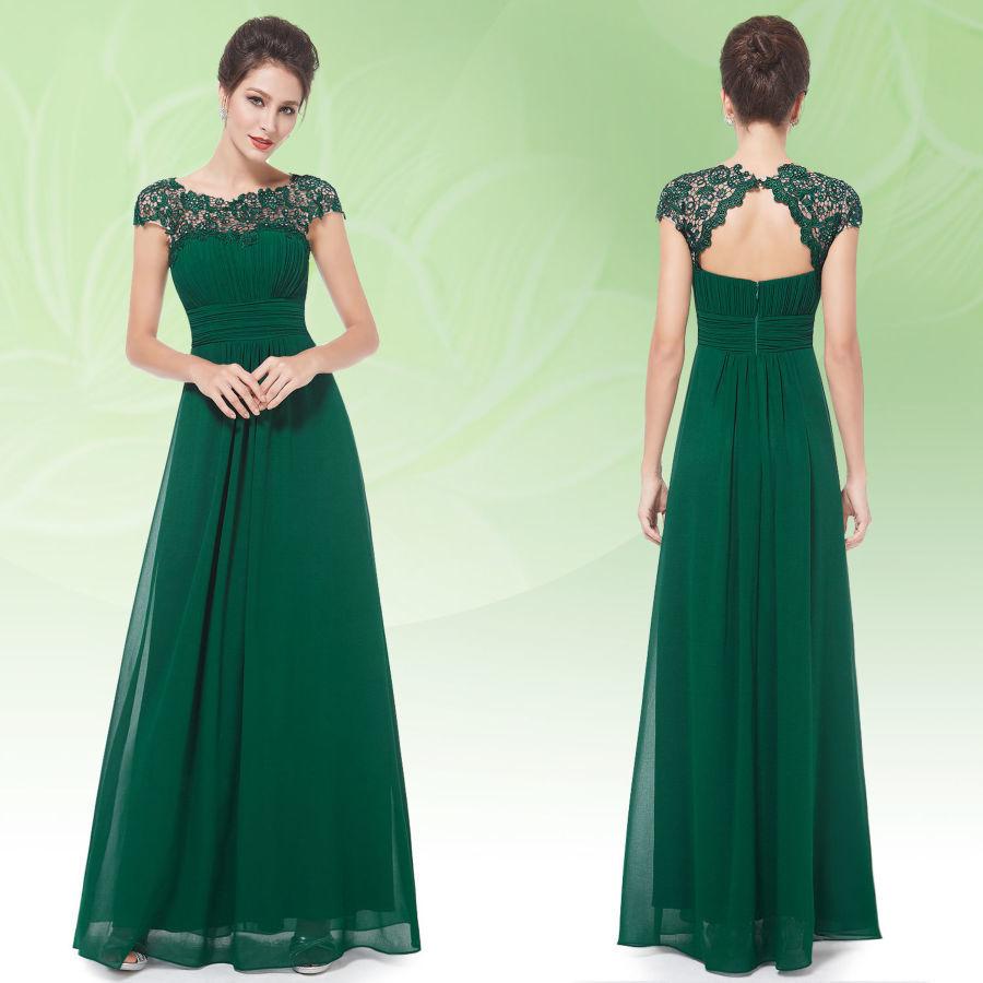 86c7e688a26 Зеленое вечернее платье (42 фото)  темно-зеленое