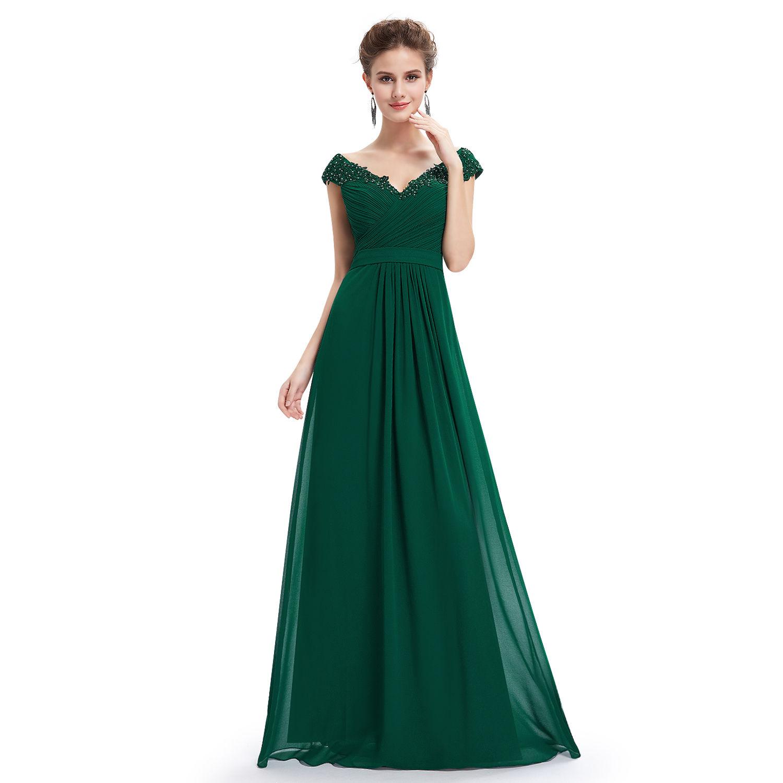 Платье изумруд в пол
