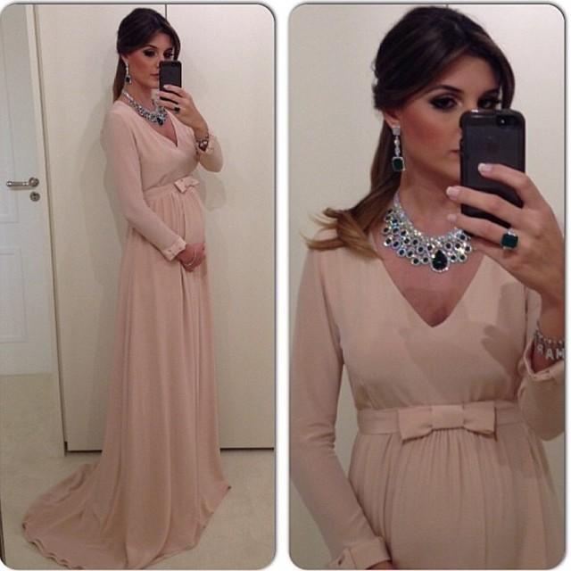Картинки беременная в платье