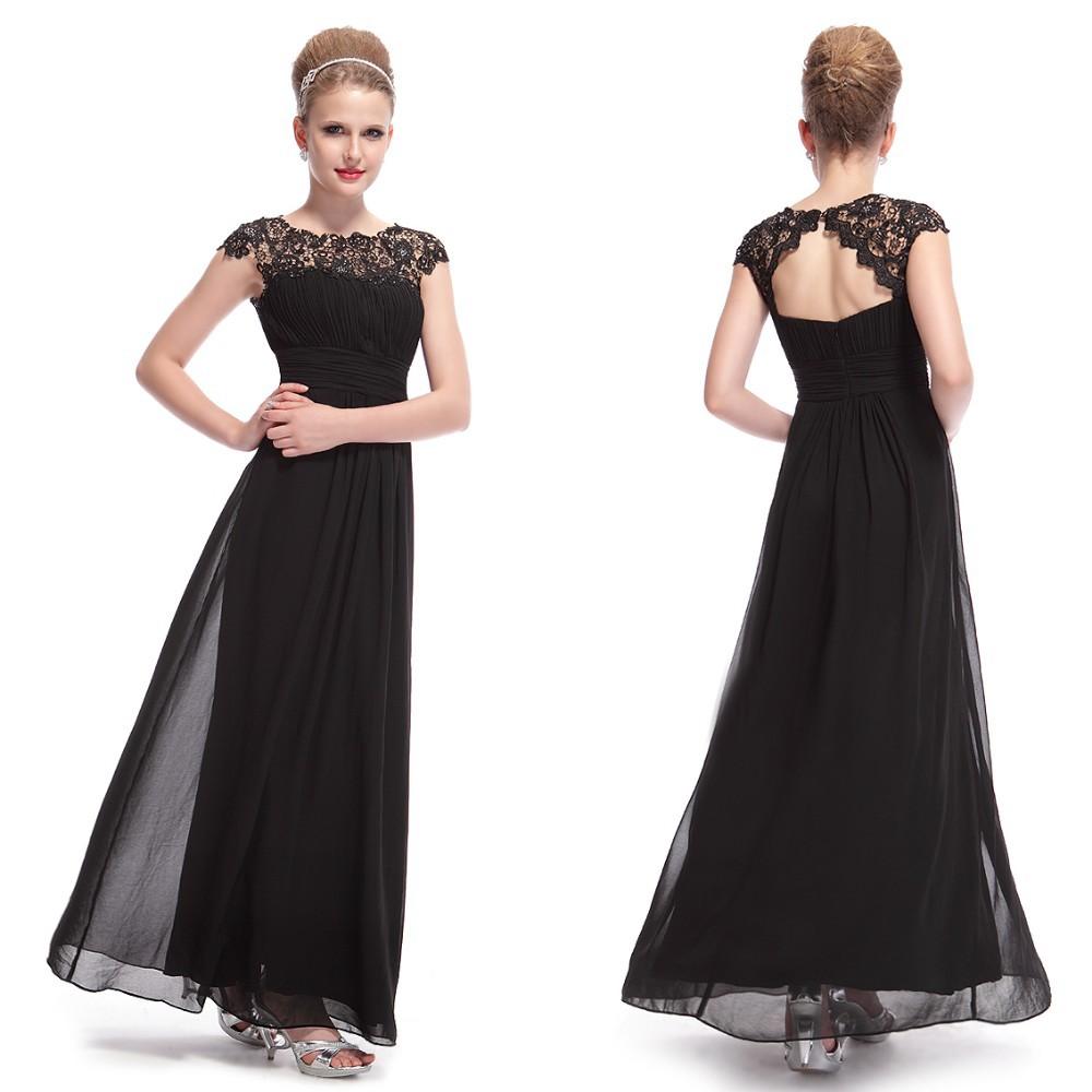 Вечернее платье с верхом из кружева