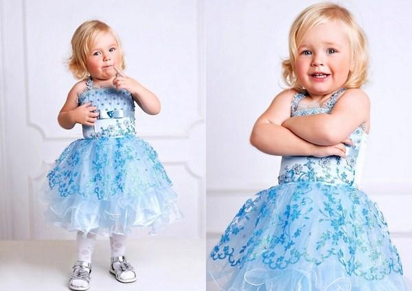 Платья для маленьких девочек новый год