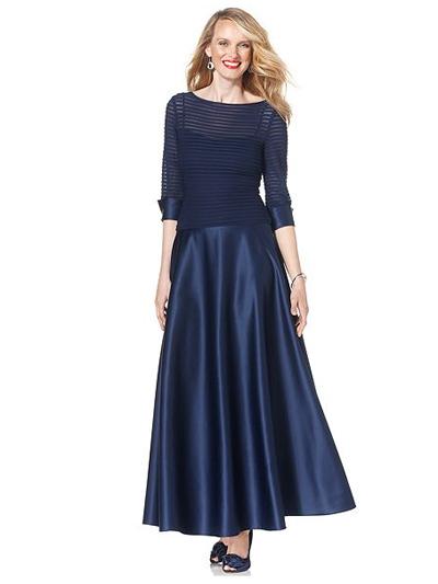 Вечернее платье для худой женщины