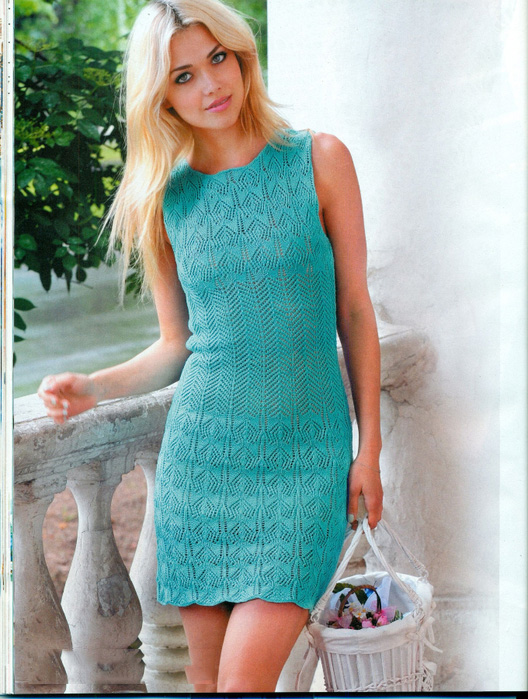 Летние вязание платья и юбки