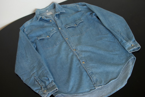 Перешить джинсовую рубашку своими руками 19