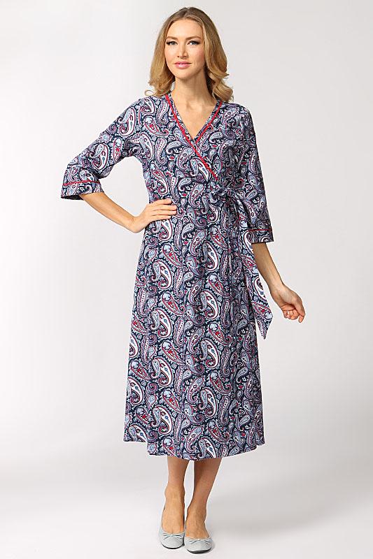 196eff207329 Байковый халат (29 фото): для бабушек, женский, больших размеров, с  запахом, на пуговицах