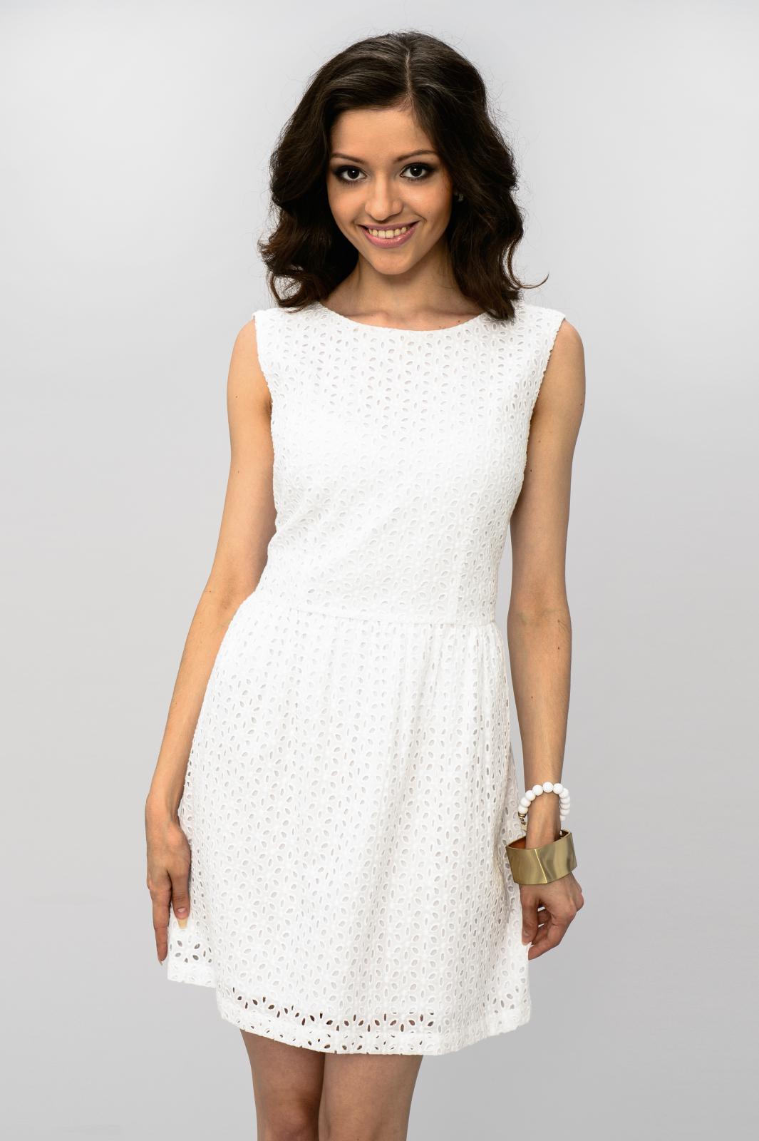 Белое Платье Летнее Купить