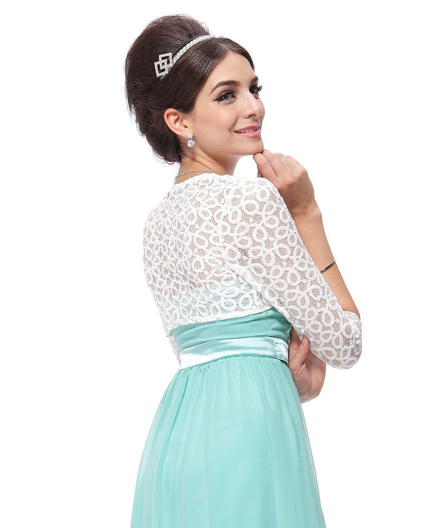 Сшить накидку на платье из кружева