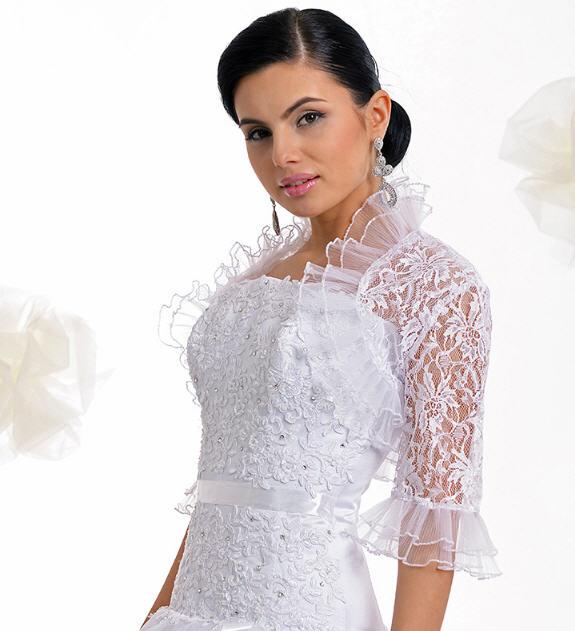 Фото кружевных платьев с болеро