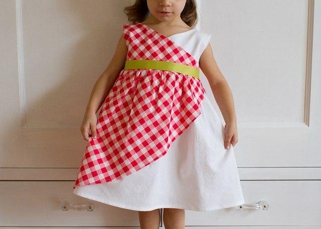 Сшить летнее платье ребенку