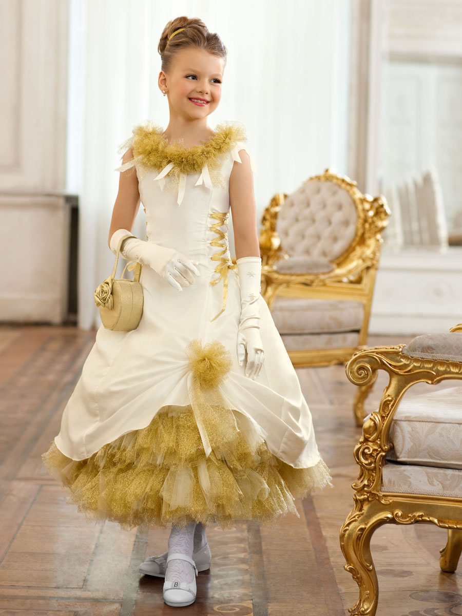 заказать вечерние платья для девочек