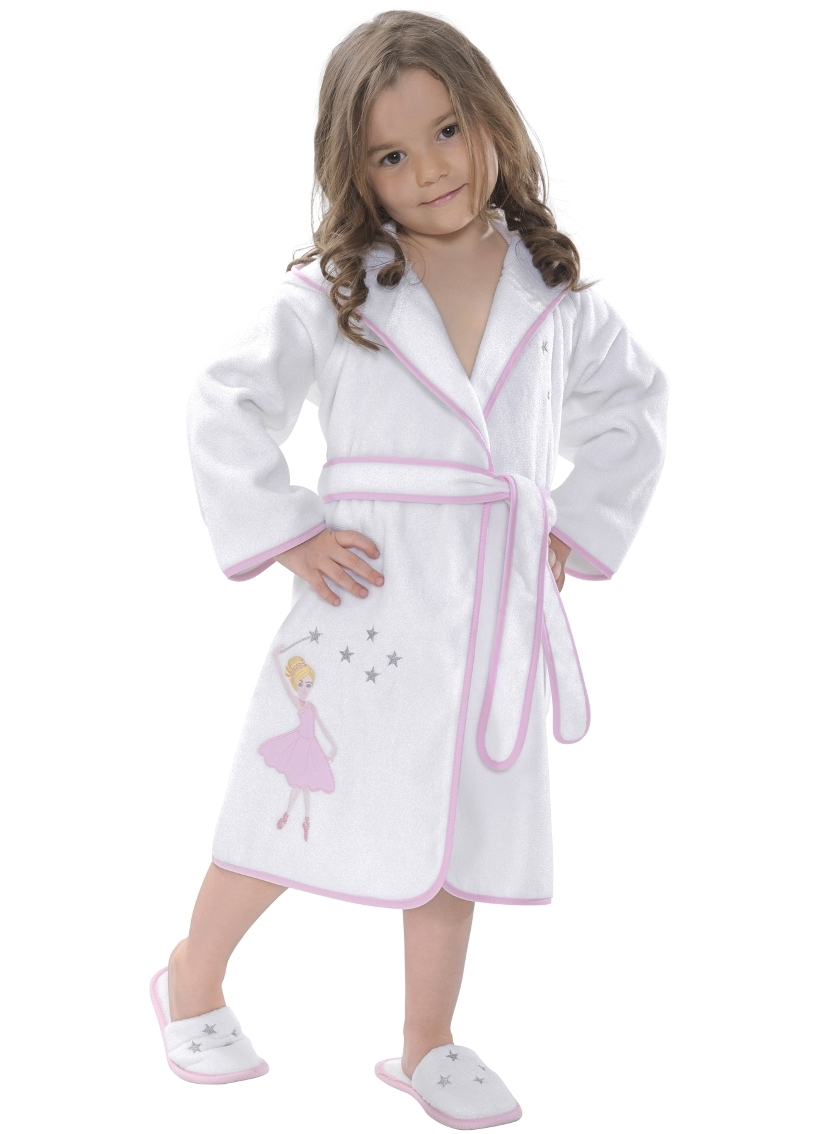 Выкройка детский халат на молнии