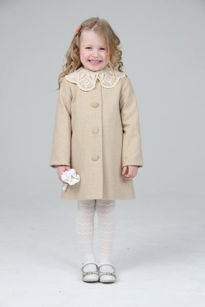 детские пальто для девочек 7