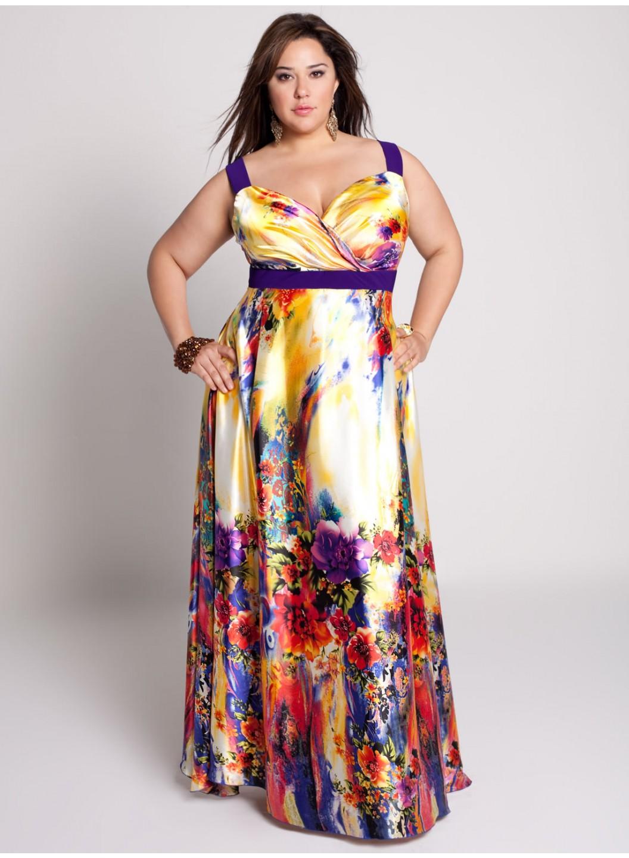 Летнее платье для полной женщины своими руками 7